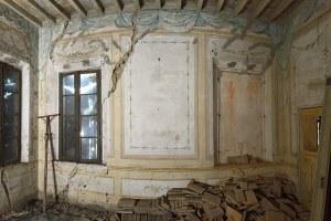 Palazzo Sartoretti, interno danneggiato