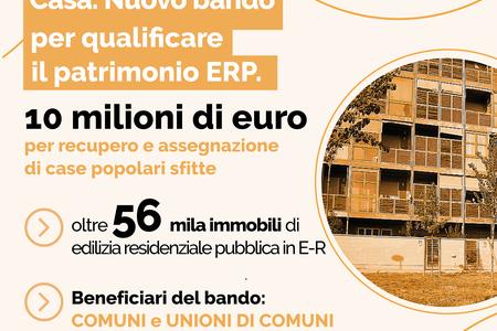 Casa. Nuovo bando per qualificare il patrimonio ERP