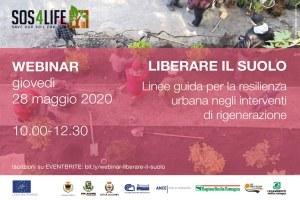 SOS FOR LIFE, giovedì 28 maggio il webinar di presentazione del progetto