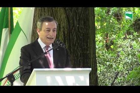 Il presidente del Consiglio Mario Draghi in visita al Tecnopolo di Bologna e al distretto ceramico