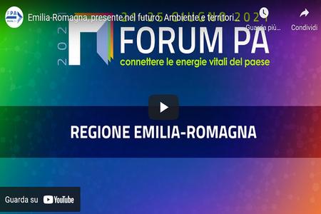 """Forum PA 2021: """"Ambiente e territorio a portata di click: verso un'informazione sempre piu' trasparente e digitale"""""""